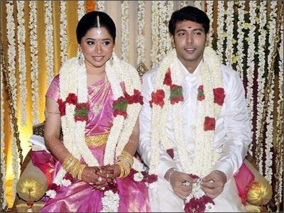 Tamil Wedding Songs On Jayam Ravi Tied Knot To Aarthi 4th June 2009 Around